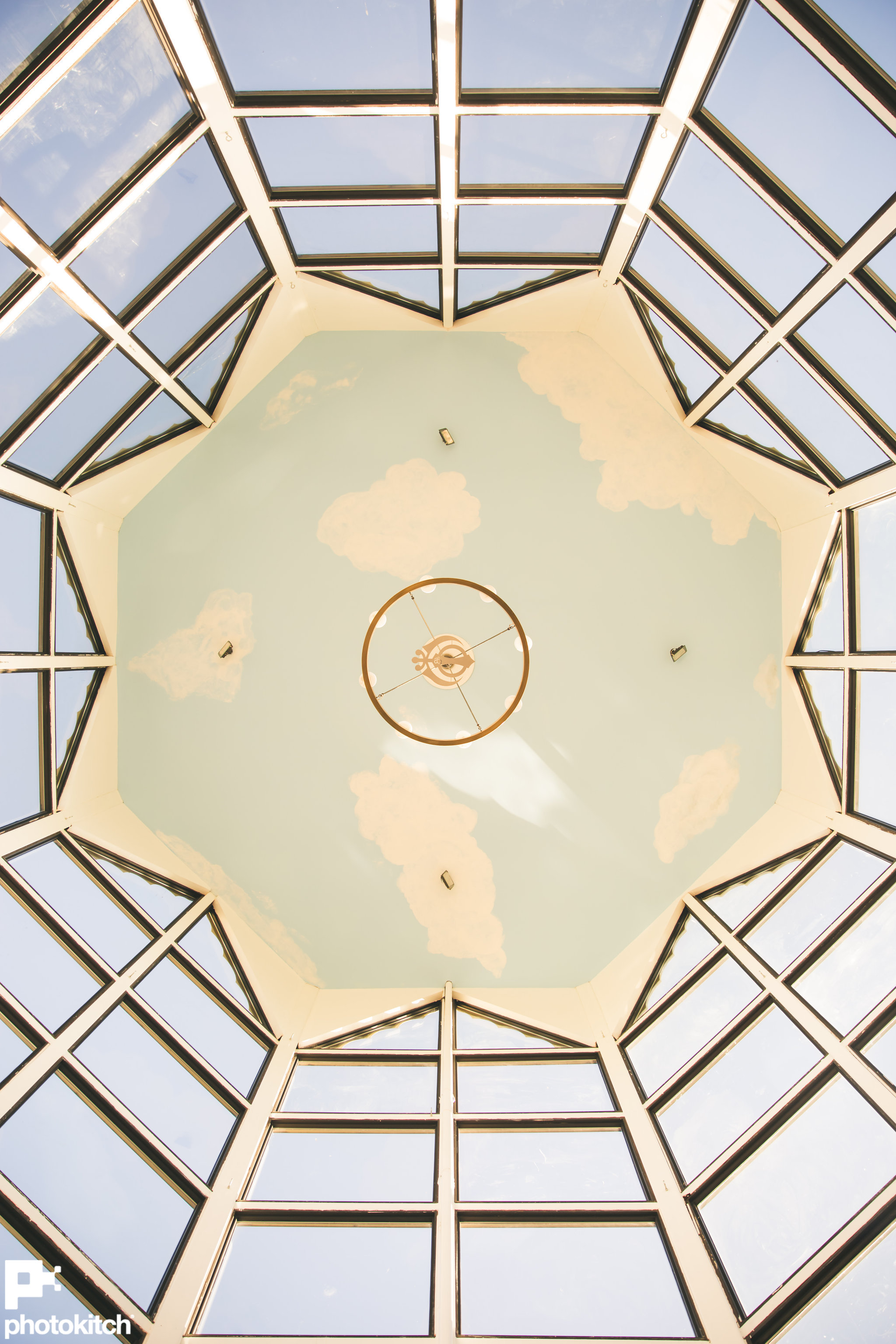 Inside view of Dome