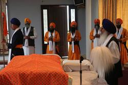 Pyare and Guru Sahib.