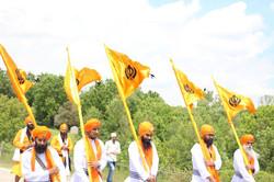 Singhs in Hamilton Nagar Kirtan Procession.