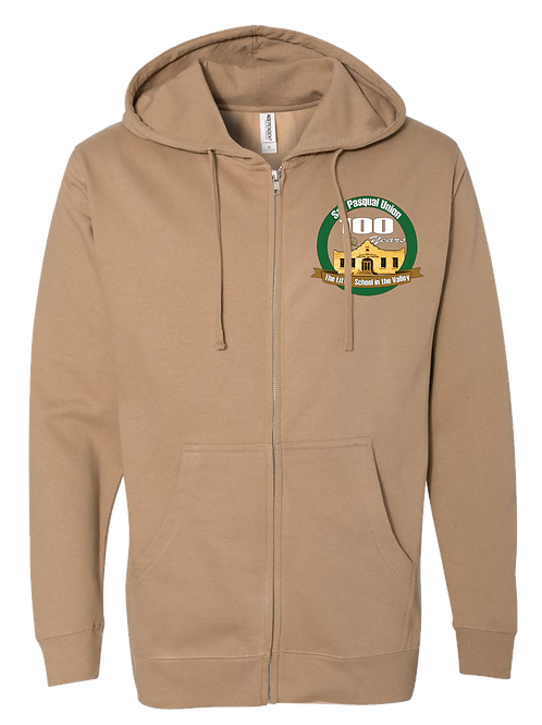 100 YEAR ZIP-UP HOODIE - ADULT