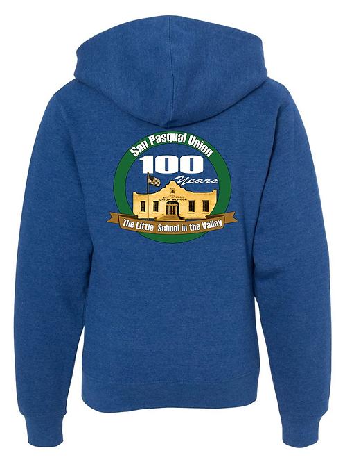 100-Year Zip Up Hoodie - YOUTH