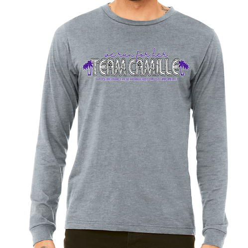 TEAM CAMILLE - GREY LS T-SHIRT