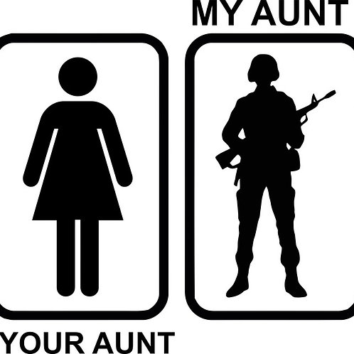 YOUR AUNT MY AUNT
