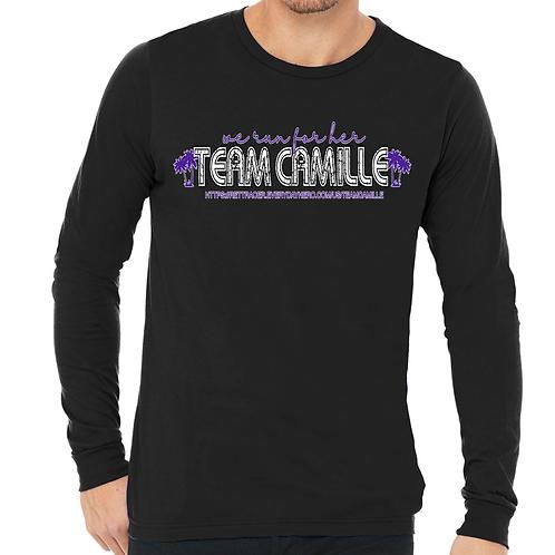 TEAM CAMILLE - BLACK LS T-SHIRT