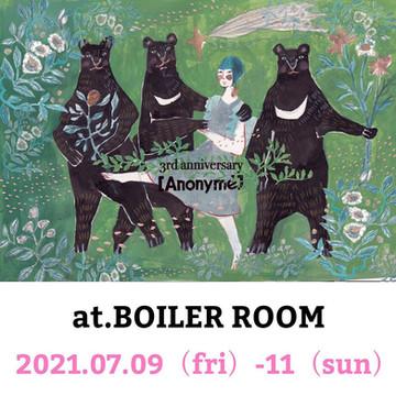 【WORK SHOP・大阪「Anonyme」・告知】