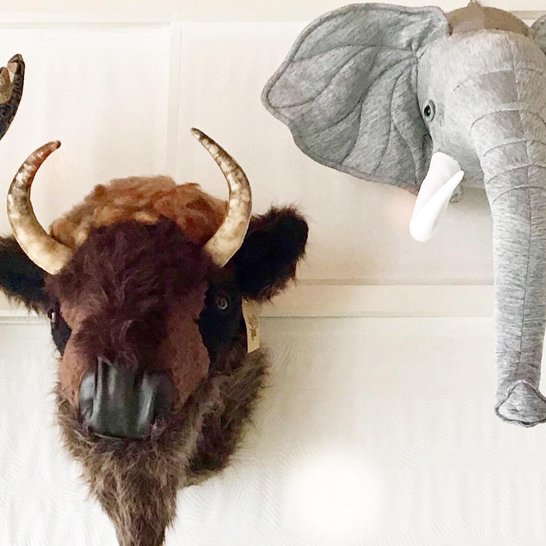 Hande und Stitch『ANIMAL TROPHY』