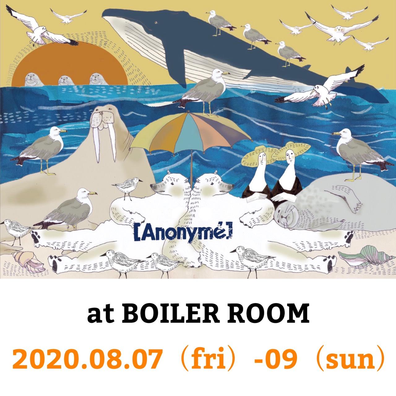 Anonyme (アノニーム)・大阪/南船場