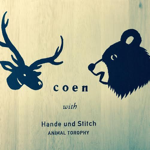 coen with Hande und Stitch LOGO