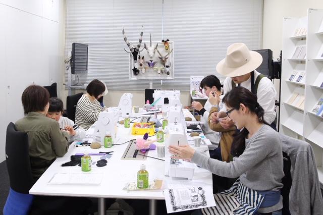 【ハンドメイド作家とつくる 「ブラザーソーイングワークショップ」】