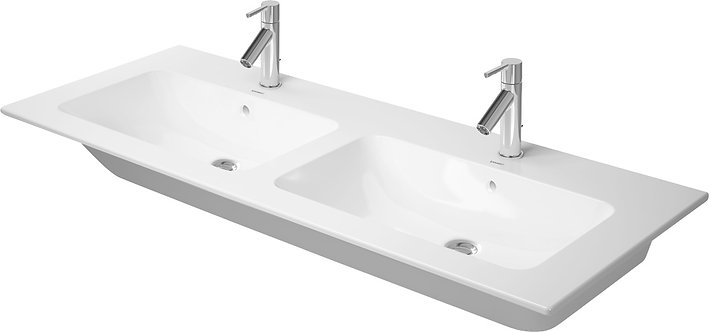 DURAVIT ME BY STARCK 1300X490MM DOUBLE FURNITURE BASIN