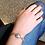 Thumbnail: Bracelet Fleur de Murano|Gris