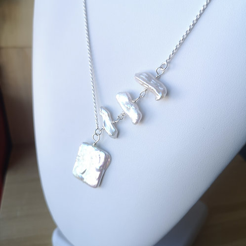 Collier perles 0221