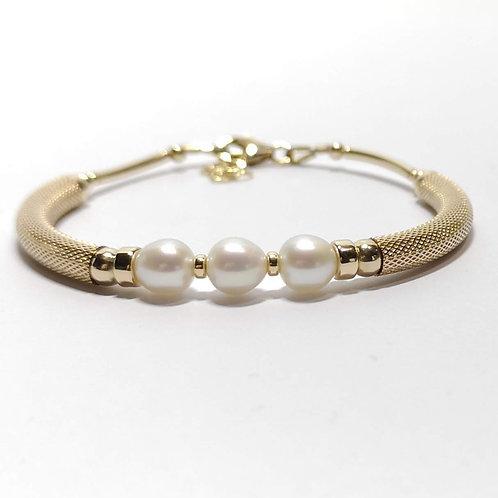 Bracelet 3 perles