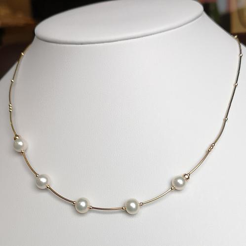 Collier de perles #5