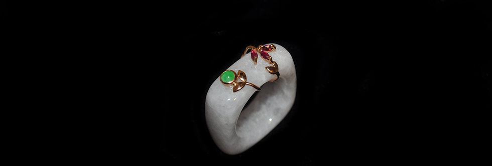 Unique Jadeite Ring