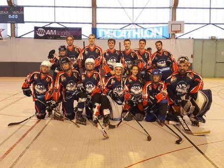 Premier plateau de l'équipe régionale de Roller Hockey