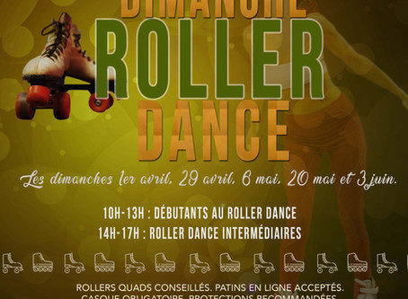 Roller dance : formules stage ou 1/2 journée