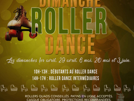 Roller dance : formules stage ou 1/2 journée