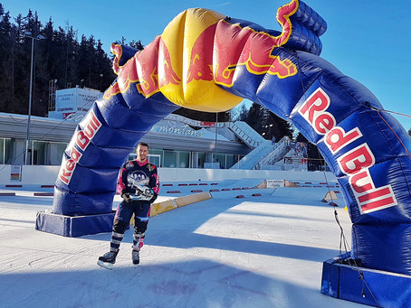 Florian Petitcollin au Red Bull Crashed Ice