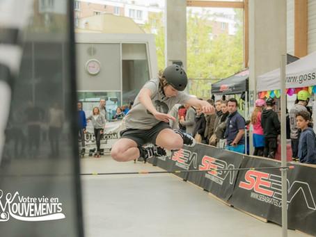 Charline au Paname Skate Cross