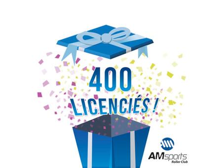 400 !