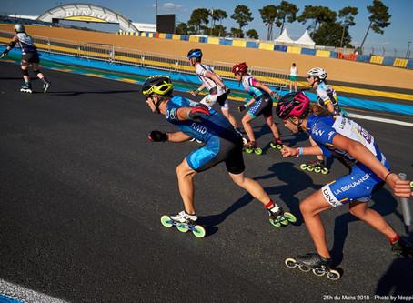 4 équipes aux 24h rollers du Mans