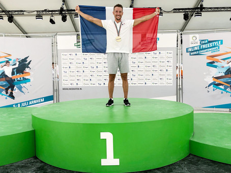 Florian ENCORE Champion du MONDE !!!