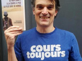 Grégoire Chevignard, le parfait parrain du Marathon des Grands Crus !