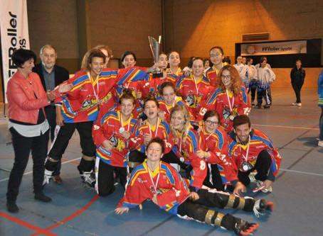 Bravo Juliette et l'équipe de Bourgogne-Franche-Comté !