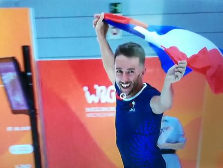 Exceptionnel Florian Petitcollin ! Champion du MONDE de roller hauteur pure !