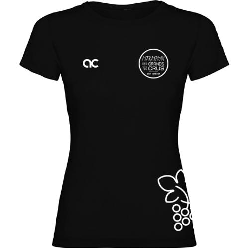 T-shirt Femme Noir