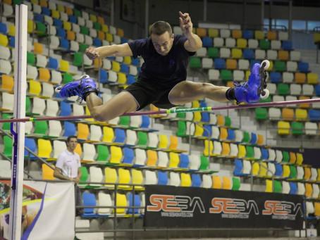 F Petitcollin Vice Champion d'Europe et du Monde de hauteur !