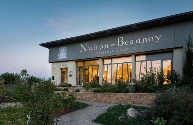 Boutique et accès au caveau de la Maison-Beaunoy à Beaune