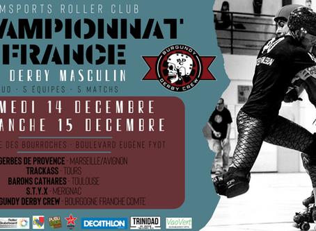 Championnat de France de Roller Derby Masculin à Dijon