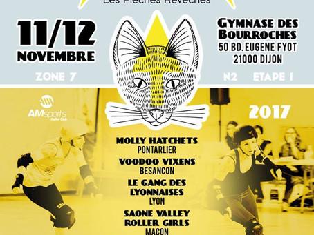 Championnat de France de Roller Derby !