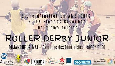 Initiation roller derby junior !