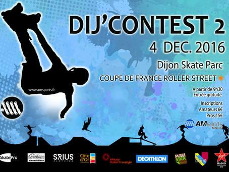 Le Dij'Contest 2016, coupe de France de freestyle