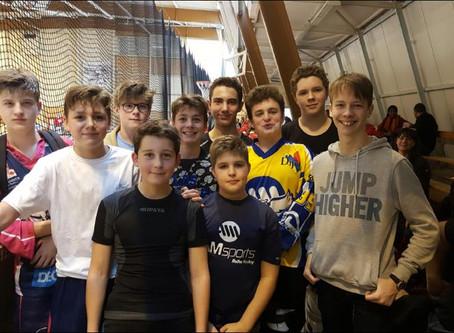 Hockey jeunes : l'équipe minime d'AM Sports conserve la tête !