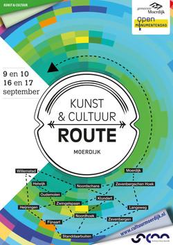 Kunst & Cultuurroute Moerdijk 2017