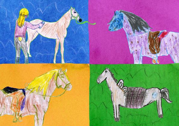 kaart-paarden