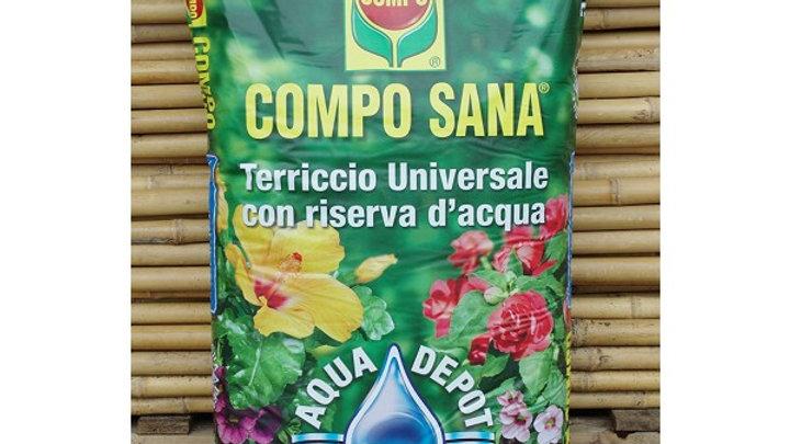 Compo Sana Terriccio Uni.con riserva d'acqua LT 50