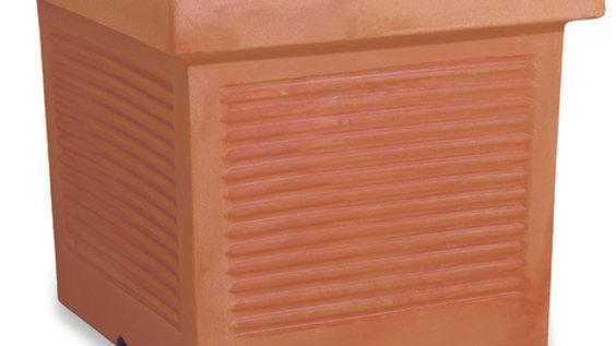 Quadro resina millerighe anticato cm 45x45 QMC 45