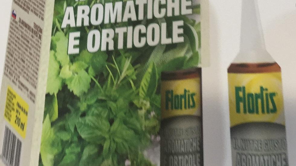Flortis Nutriente per Aromatiche e Orticole 6 fiale