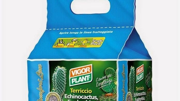 Terriccio Piante Grasse Vigorplant LT20