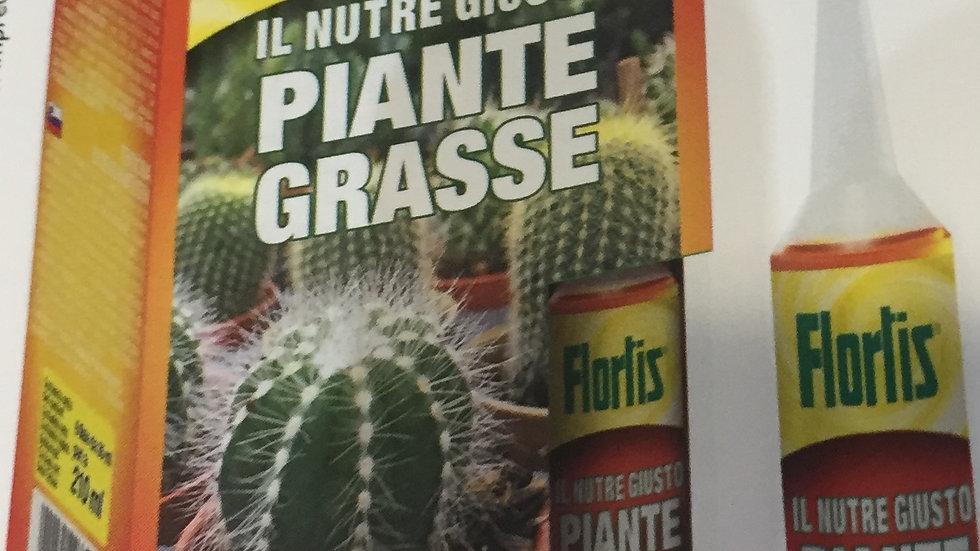 Flortis Nutriente per piante grasse 6 fiale