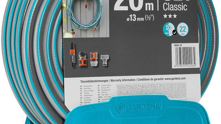 Gardena tubo e porta tubo 20 MT 13mm