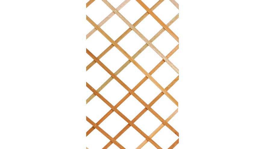 traliccio naturale  di legno di pino duro mt 1.80x1.20