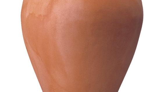 Orcio liscio in resina anticato cm 48 h 72