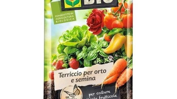 Compo Bio per orto e semina 50 LT terriccio