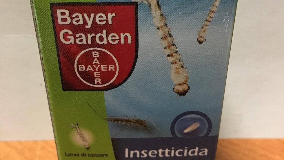 Bayer Garden insetticida Device TB-2 per le larve di zanzara 20 compresse